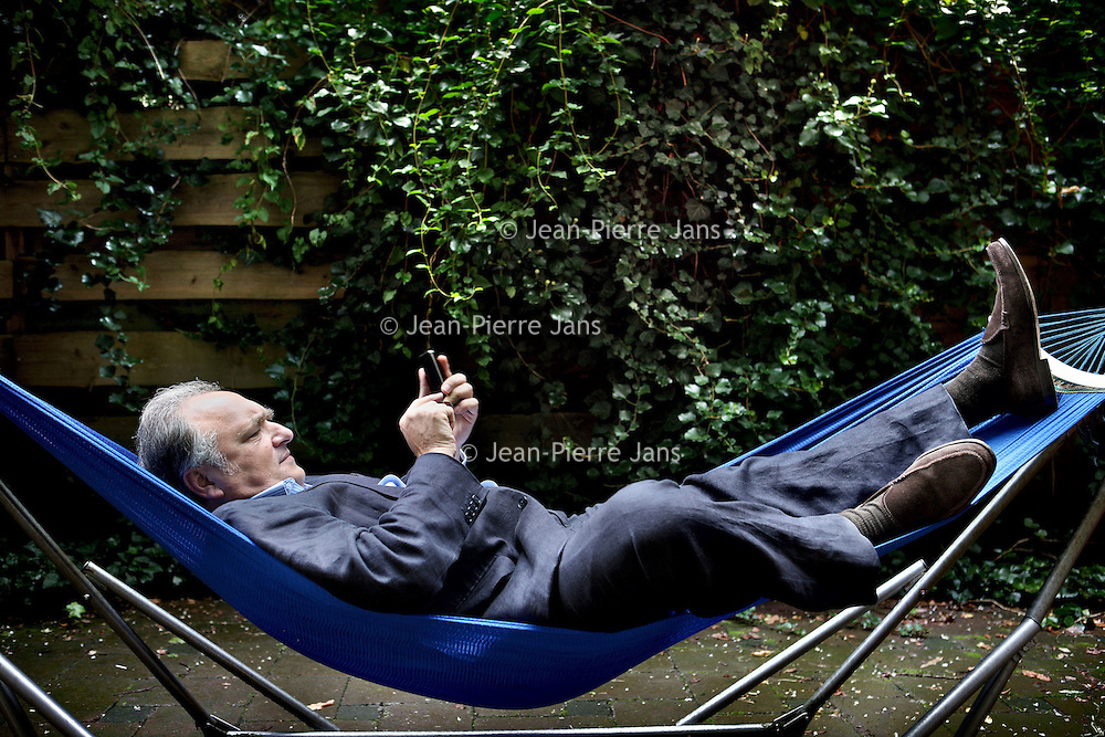 Nederland, Amsterdam , 26 augustus 2010..Robert Rubinstein, duurzaam, groen, belegger..Duurzaamheidsbijlage..Robert Rubinstein, green investor.