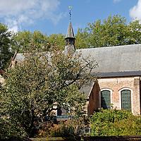 Europe, Belgium, Brugges. Small church in Brugges.