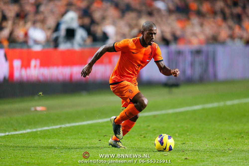NLD/Amsterdam/20121114 - Vriendschappelijk duel Nederland - Duitsland, Ruben Schaken