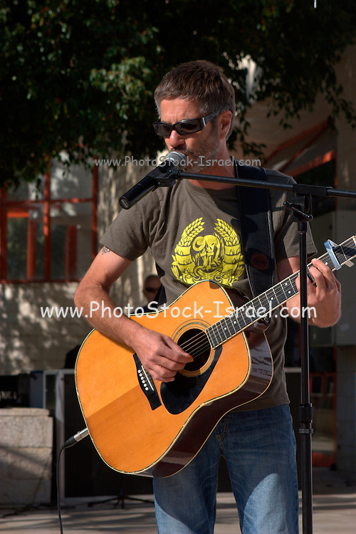 Yoval Banay an Israeli singer and songwriter