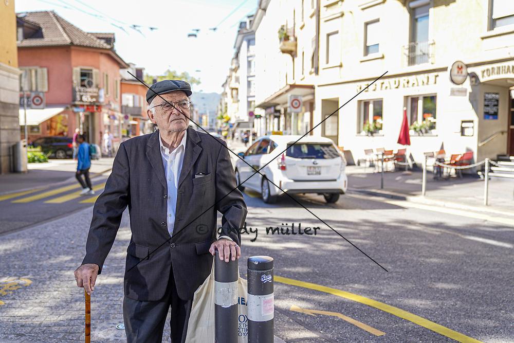 04.09.2020; Zuerich; INLAND;<br /> Portrait Argyris Sfountouris <br /> (Andy Mueller/freshfocus)