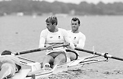 Strathclyde Park, Motherwell. GBR M2- stroke, Steve REDGRAVE and Andy HOLMES 1986 Commonwealth Regatta, Strathclyde Country Park, [Mandatory Credit. Peter Spurrier/Intersport Images]