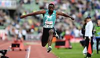 Friidrett , 9. juni 2016 , Diamond League , Bislett Games<br /> Athletics , <br /> Teddy Tamgho , FRA  , triple jump
