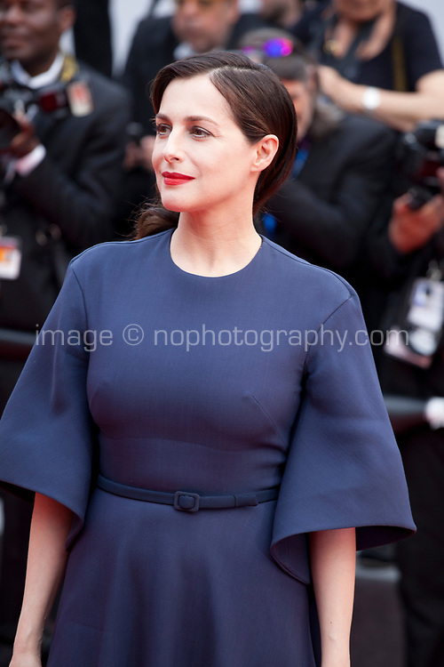 Amira Casar at L'amant Double gala screening at the 70th Cannes Film Festival Friday 26th May 2017, Cannes, France. Photo credit: Doreen Kennedy