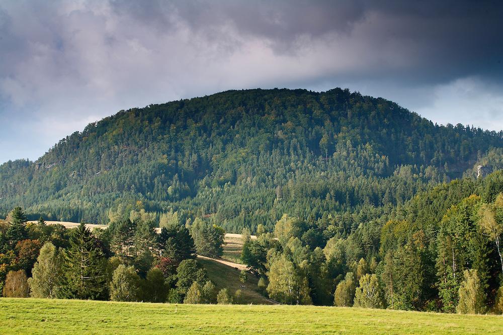 VYHLIDKA (321 m).<br /> JETRICHOVICE. CESKE SVYCARSKO. CZECH REPUBLIC.