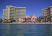 Royal Hawaiian Hotel, Waikiki Beach, Oahu, Hawaii<br />