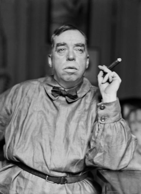 Irvin Cobb, American Author and War Correspondent, 1926