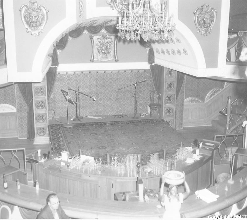 1963 Millionaire's Club on La Cienega Blvd.