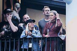July 2, 2017 - Stockholm, Sweden - Swedish actor Alexander SkarsgÃ¥rd attending Elton Johns concert at Gröna Lund Tivoli, Stockholm, Sweden (Credit Image: © Aftonbladet/IBL via ZUMA Wire)
