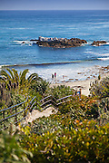 Bird Rock at Heisler Park in Laguna Beach California