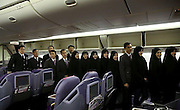 """First Thai passenger plane lands at Iran airport<br /> <br /> Thai Airways landed its first passenger flight on the Imam Khomeini International Airport yesterday (October 1), marking the 56th foreign airliner using Tehran's newly established airport, Irna reported.<br /> <br /> The airlines, which flew a Boeing 777-200 from Bangkok to Tehran, will have four flights weekly on the route, regional director of Thai Airways International Prin Yooprasert was quoted as saying in the Irna report.<br /> <br /> """"We hope to operate the flights on a daily basis,"""" he said.<br /> <br /> Yooprasert announced that Thai Airways International owns 94 planes, which flies to 80 international destinations.<br /> <br /> Iran's Mahan Airline Company currently operates six flights each week via the same route, according to the report.<br /> ©Exclusivepix Media"""
