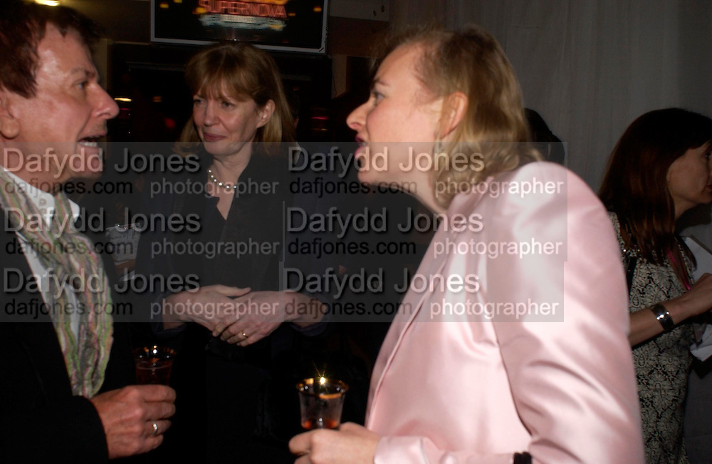 the Countess of Snowdon. Selfridges Las Vegas dinner hosted by  hon Galen , Hillary Weston and Allanah Weston. Selfridges Oxford St. 20 April 2005. ONE TIME USE ONLY - DO NOT ARCHIVE  © Copyright Photograph by Dafydd Jones 66 Stockwell Park Rd. London SW9 0DA Tel 020 7733 0108 www.dafjones.com