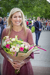 Queen Maxima announces the start of the 12th edition of Burendag on Tuesday, on June 13, in Drenthe Nieuw-Buinen, Netherlands. This year Burendag will take place on September 23rd. On this day, thousands of activities are being organized in the Netherlands that bring neighbors closer together. Photo by Robin Utrecht/ABACAPRESS.COM