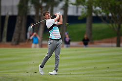 March 16, 2019 - Ponte Vedra Beach, FL, U.S. - PONTE VEDRA BEACH, FL - MARCH 16: Ollie Schniederjans of the United States plays a shot on the 15th hole during the third round of THE PLAYERS Championship on March 16, 2019 on the Stadium Course at TPC Sawgrass in Ponte Vedra Beach, Fl. (Photo by David Rosenblum/Icon Sportswire) (Credit Image: © David Rosenblum/Icon SMI via ZUMA Press)