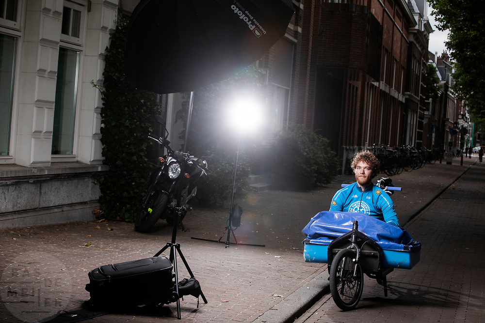 Tobias Molenaar van De Fietskoerier Utrecht.
