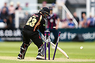 Northants Steelbacks v Leicestershire Foxes 260616