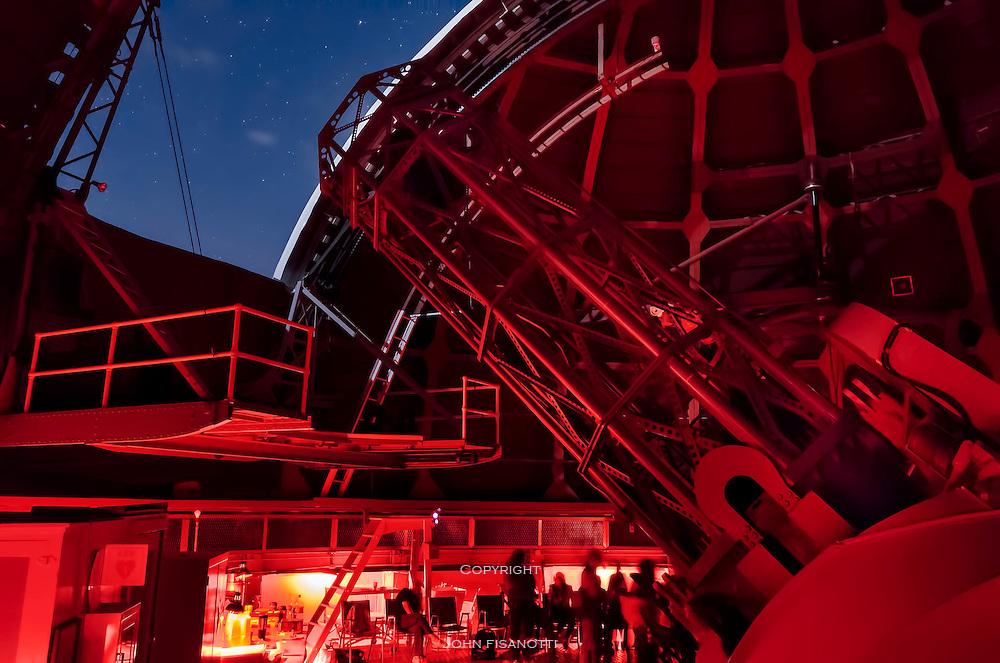 "Mt. Wilson 60"" telescope views the universe."