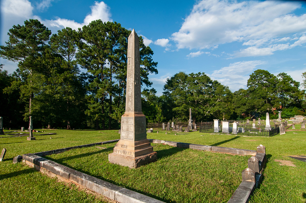Old Cemetery in Madison, Georgia on Friday, July 16, 2021. Copyright 2021 Jason Barnette