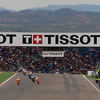 2011 MotoGP World Championship, Round 14, Motorland Aragon, Spain, 18 September 2011, MotoGp Race Ambience
