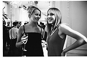 Emma Parker Bowles and India Waters.Krug party. Mandarin Oriental Hotel. May 1999. © Copyright Photograph by Dafydd Jones 66 Stockwell Park Rd. London SW9 0DA Tel 020 7733 0108 www.dafjones.com