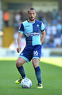 Wycombe Wanderers Michael Harriman(16) during the EFL Sky Bet League 2 match between Wycombe Wanderers and Stevenage at Adams Park, High Wycombe, England on 5 May 2018. Picture by Alistair Wilson.