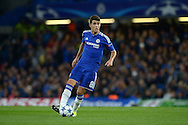 Oscar of Chelsea in action. UEFA Champions League group G match, Chelsea v Maccabi Tel Aviv at Stamford Bridge in London on Wednesday 16th September 2015.<br /> pic by John Patrick Fletcher, Andrew Orchard sports photography.