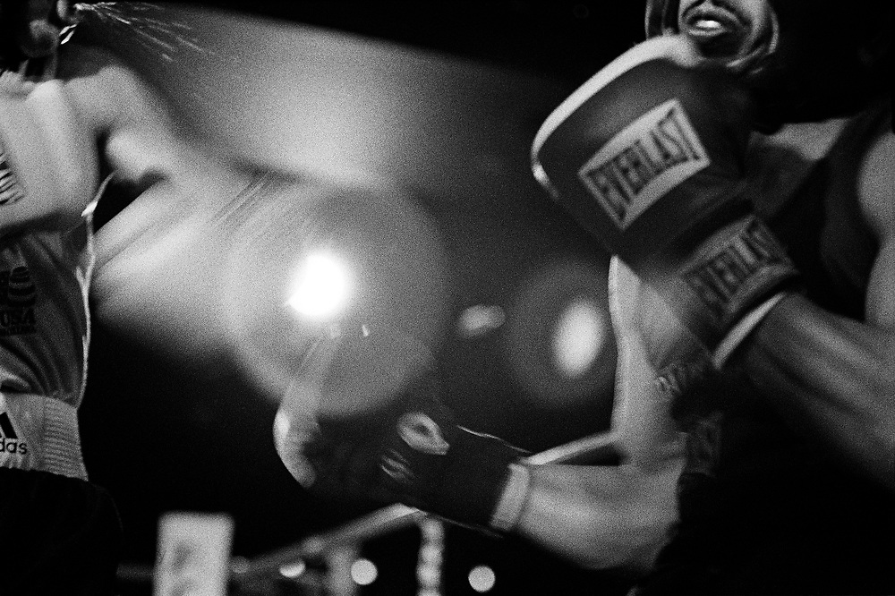 A 2005 Daily News Golden Gloves preliminary fight at Copacabana (Manhattan) on March 2nd.