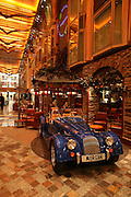Royal Caribbean International's  Independence of the Seas, the world's largest cruise ship...Onboard feature pictures...Morgan car on the Royal Promenade