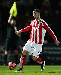 Stoke City's Marko Arnautovic  - Photo mandatory by-line: Matt McNulty/JMP - Mobile: 07966 386802 - 26/01/2015 - SPORT - Football - Rochdale - Spotland Stadium - Rochdale v Stoke City - FA Cup Fourth Round