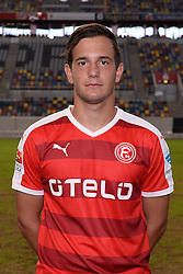 02.07.2015, Esprit Arena, Duesseldorf, GER, 2. FBL, Fortuna Duesseldorf, Fototermin, im Bild Christian Gartner ( Fortuna Duesseldorf / Portrait ) // during the official Team and Portrait Photoshoot of German 2nd Bundesliga Club Fortuna Duesseldorf at the Esprit Arena in Duesseldorf, Germany on 2015/07/02. EXPA Pictures © 2015, PhotoCredit: EXPA/ Eibner-Pressefoto/ Thienel<br /> <br /> *****ATTENTION - OUT of GER*****
