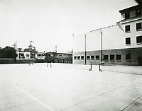 1924 The Hollywood YMCA's new tennis courts, just south of the YMCA building on Selma Ave.
