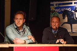 Van Lieren Laurens, (NED), Morris George, (USA)<br /> Global Dressage Forum<br /> Academy Bartels - Hooge Mierden 2015<br /> © Hippo Foto - Dirk Caremans<br /> 27/10/15