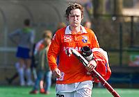 BLOEMENDAAL - 17/4/2011  Bloemendaal-Rotterdam 5-5. Bloemendaal-speler Laurence Doucherty , eventueel bij verhaal, later komende week.  COPYRIGHT KOEN SUYK