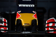 May 25-29, 2016: Monaco Grand Prix. Toro Rosso front wing detail