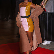 London,England,UK. 21th Fen 2017. Justine Skye attends London Fabulous Fund Fair hosted by Natalia Vodianova and Karlie Kloss in support of The Naked Heart Foundation on February 21, 2017 at The Roundhouse in London, England.,UK. by See Li