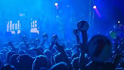 Haikaiss se apresenta no Palco Atlântida durante a 22ª edição do Planeta Atlântida. O maior festival de música do Sul do Brasil ocorre nos dias 3 e 4 de fevereiro, na SABA, na praia de Atlântida, no Litoral Norte gaúcho.  Foto: Lucas Uebel / Agência Preview