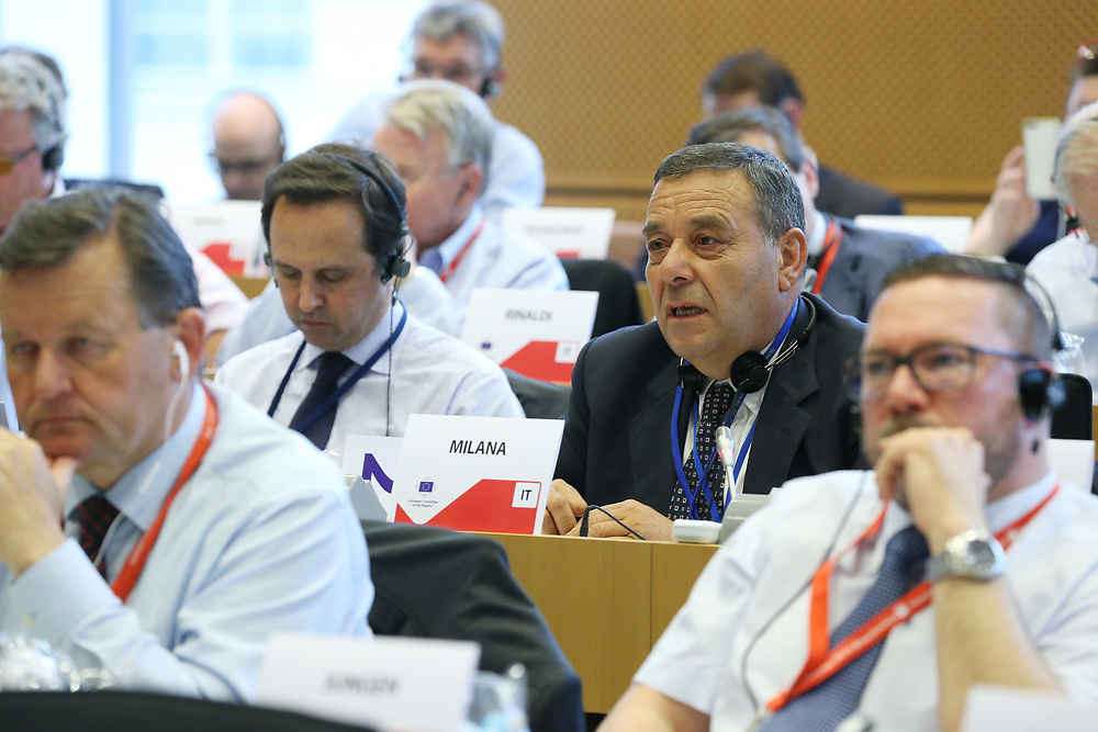 11 May 2017, 123rd Plenary Session of the European Committee of the Regions <br /> Belgium - Brussels - May 2017 <br /> <br /> MILANA Guido, Consigliere del Comune di Olevano Romano, Italy<br /> <br /> © European Union / Patrick Mascart