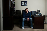 Reality Steve aka Steve Carbone poses for a portrait at his home office in Frisco, Texas on December 21, 2015. (Cooper Neill for The New York Times)