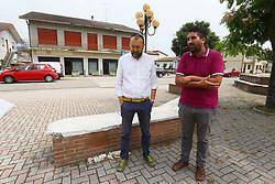 ANDREA MARCHI E MARCO FABBRI<br /> CONFERENZA SITUAZIONE SUPERSTRADA SAN GIOVANNI DI OSTELLATO