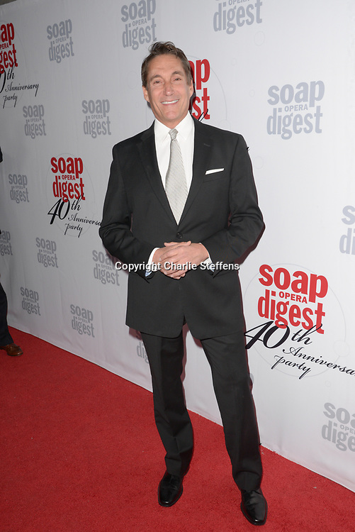 MICHAEL CORBETT at Soap Opera Digest's 40th Anniversary party at The Argyle Hollywood in Los Angeles, California