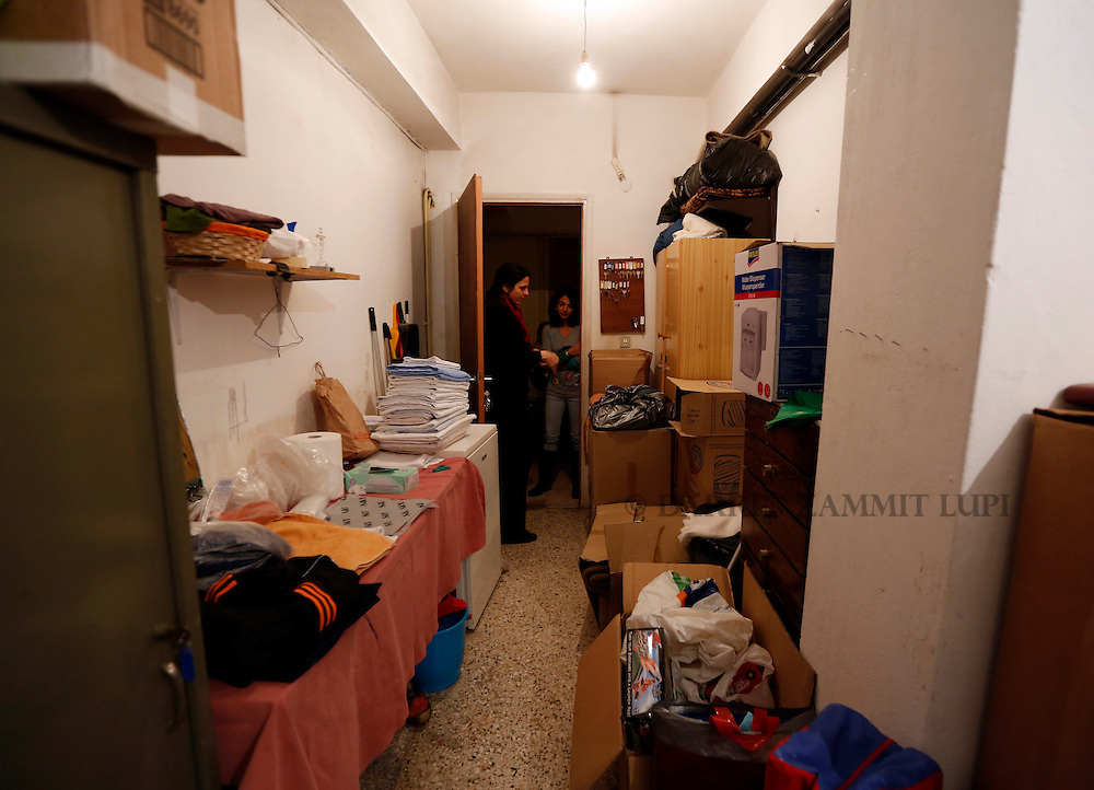 JRS shelter for Migrants and refugees in Athens, Greece.<br /> Photo: Darrin Zammit Lupi