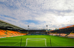 General view of the pitch at Carrow Road