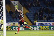 Andrew Surman celebrates his goal during the Sky Bet Championship match between Sheffield Wednesday and Bournemouth at Hillsborough, Sheffield, England on 4 November 2014.