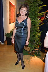 The DUCHESS OF RUTLAND at a party to celebrate the publication of Capability Brown & Belvoir - Discovering a lost Landscape by The Duchess of Rutland, held at Christie's, 8 King Street, St.James, London on 7th October 2015.