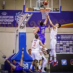 20190804: GRE, Basketball - FIBA U18 European Championship Volos 2019, Serbia vs Italy