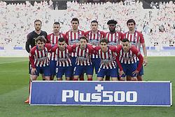 March 9, 2019 - Madrid, Madrid, Spain - Atletico de Madrid's team photo during La Liga match between Atletico de Madrid and CD Leganes at Wanda Metropolitano stadium in Madrid. (Credit Image: © Legan P. Mace/SOPA Images via ZUMA Wire)