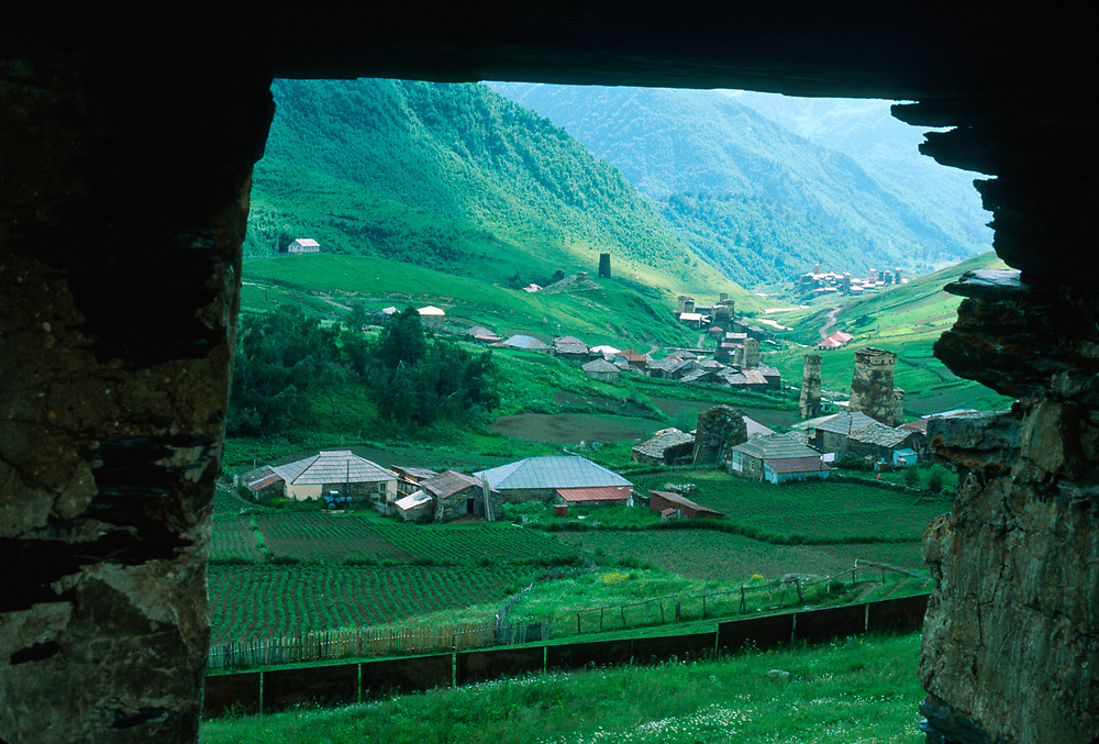 Ushguli, UNESCO World Heritage Site, Caucasus Mountains, Svaneti Region, The Country of Georgia