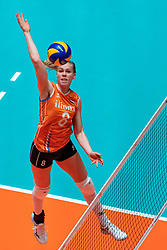 29-05-2019 NED: Volleyball Nations League Netherlands - Bulgaria, Apeldoorn<br /> Demi Korevaar #8 of Netherlands