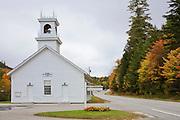 Historic church in Stark Village, NH.