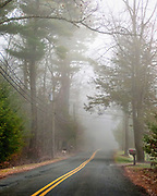 Back country roads and bridges in New England.